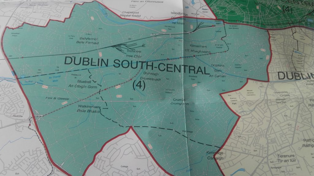 Dublin South Central Constituency 9/2017